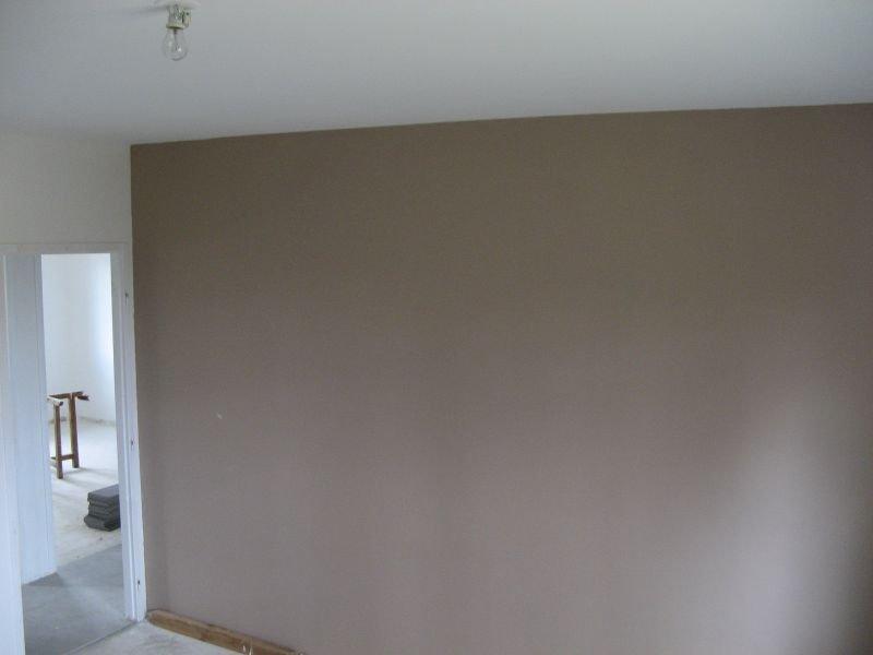 Peinture de notre chambre at maison en construction for Photos peinture chambre